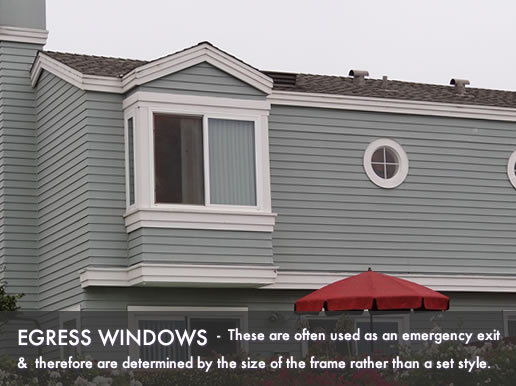 egress window pictures